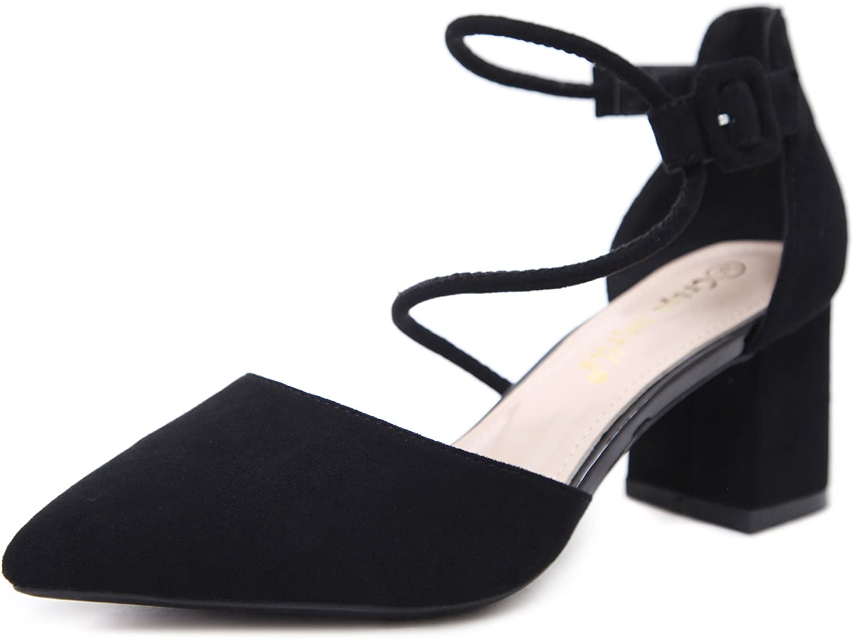 Hanglin Trade Women's Heeled Sandals Sexy Stilleto High Heels Open Toe Ankle Strap Sandals Evening shoes