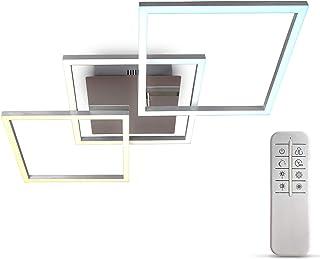B.K.Licht I Marco LED de 32 vatios I Control de temperatura de color CCT I regulable I giratorio I temporizador I luz noct...