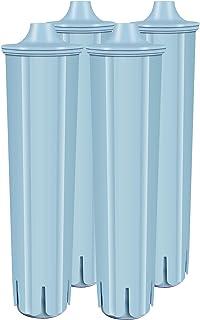 VAIYNWOM Lot de 4 Cartouches Filtrantes pour Jura Claris Blue, Filtres à Eau pour Jura Claris Blue Machine à Café - Rempla...