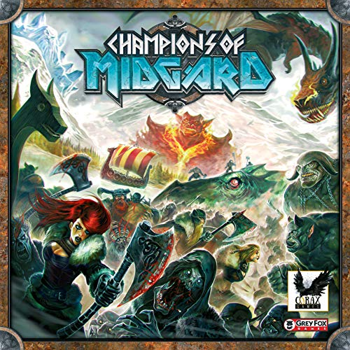 Corax Games Champions of Midgard Brettspiel deutsch