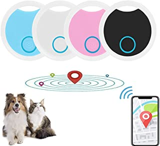 $22 » Mini Pet Locator Tag Alarm, Mobile Phone Bluetooth Cat Dog GPS Tracker Sticker, Remote Photo Selfie Shutter, Keychain Smar...