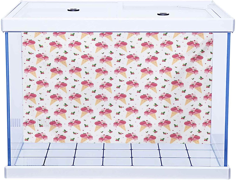 Aquarium Wallpaper Background Fish Decorations Overseas parallel import regular item Tank New color Pictures Ice