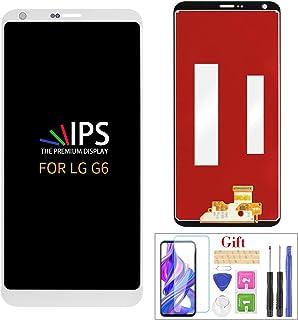 قطعة تبديل شاشة LG G6 من A-MIND لقطع تركيب محول رقمي لشاشة اللمس LG G6 H871 H872 LS993 VS998 VS988 US997 LCD وشاشة اللمس م...