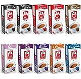 Lot de 100 capsules / dosettes de café compatible NESPRESSO - RISTRETTO (Caffè Bonini)