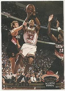 Scottie Pippen 1992-93 Stadium Club Chicago Bulls Card #367