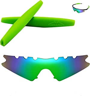 Walleva Vented Replacement Lenses Or Lenses With Earsocks For Oakley M Frame Sweep Sunglasses
