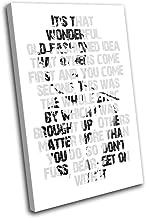 Bold Bloc Design - Audrey Hepburn Iconic Celebrities 135x90cm SINGLE Caja de lamina de arte lienzo enmarcado foto del colgante de pared - hecho a mano en el Reino Unido - enmarcado y listo para colgar - Canvas Art Print