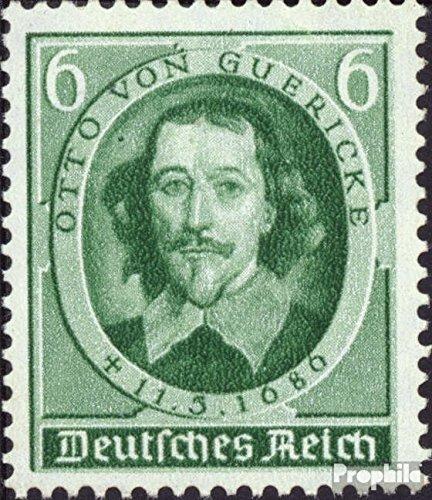 Prophila Collection Deutsches Reich 608 (kompl.Ausg.) 1936 250. Todestag von Guerickes (Briefmarken für Sammler)