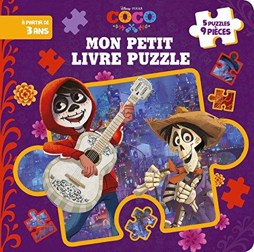 COCO - Mon petit livre puzzle 9 pièces