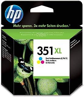 HP 351XL Dreifarbige Original Tintenpatrone mit hoher Reichweite CB338EE UUS