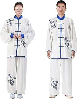 Tai Chi odzież mężczyźni kobiety, haft tradycyjne chińskie mundurki tai chi - do pokazu sztuk walki, B-M