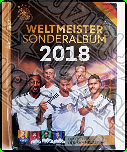 WIZUALS Rewe DFB Sammelkarten WM 2018 und EM 2016 Auswahl aus Allen 36 und Sammelalbum Oder Alles Komplett (Incl Sticker) (DFB WM 2018 Album Leer)