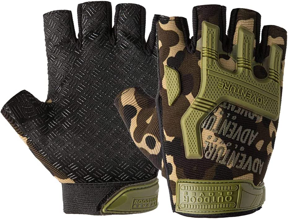 LIYUEJING Men's Fitness Cycling No Max 80% OFF Max 67% OFF Breathable Gloves Protective