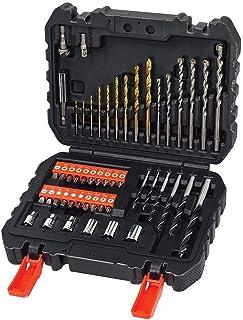 BLACK+DECKER A7188 - Set de 50 piezas con brocas y puntas