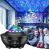 eLinksmart Proyector Estrellas, Lámpara de Nocturna & Océano con Múltiples Modos de Luz, Proyector Galaxy con Altavoz...