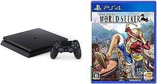 PlayStation 4 ジェット・ブラック 500GB (CUH-2200AB01) + ONE PIECE WORLD SEEKER セット
