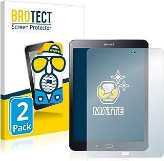 BROTECT Protector Pantalla Anti-Reflejos Compatible con Samsung Galaxy Tab S2 9.7 (2 Unidades) Pelicula Mate Anti-Huellas