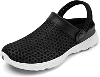 Men's Women's Garden Clogs Quick Dry Water Shoes Lightweight Beach Sandals Breathable Outdoor Walking Slippers Mules