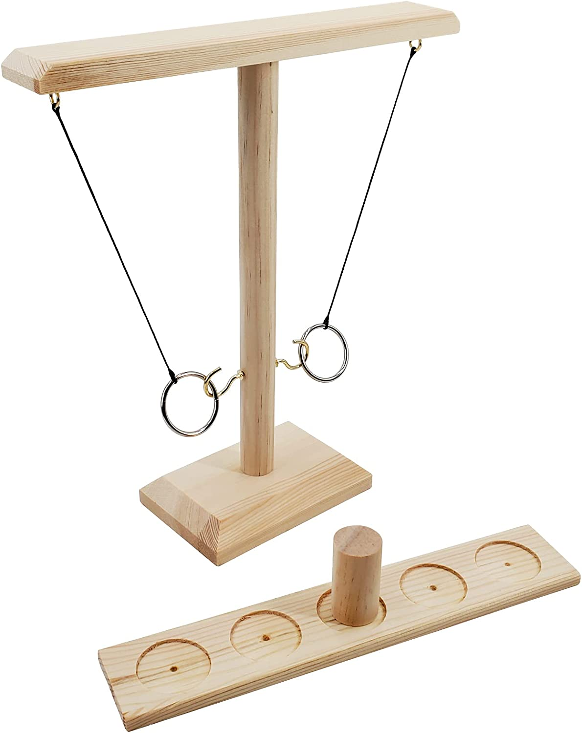 SHELLBOBO Hooks Ring Games Indianapolis Mall with Choice Shot Bundle Kids Tabl Ladder for
