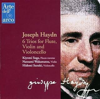 ハイドン: トリオ 第1番~第6番 (Joseph Haydn : 6 Trios for Flute, Violin and Violoncello / Kiyomi Suga, Natsumi Wakamatsu, Hidemi Suzuki)