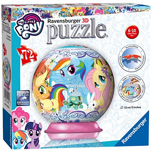Ravensburger puzzleball My Little Pony - 3D Puzzel - 72 stukjes