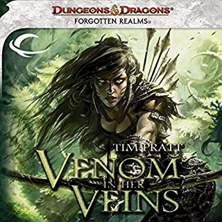 Venom in Her Veins     A Forgotten Realms Novel              By:                                                                                                                                 Tim Pratt                               Narrated by:                                                                                                                                 T. David Rutherford                      Length: 7 hrs and 10 mins     39 ratings     Overall 3.9