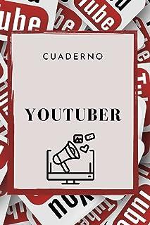 Youtuber: Cuaderno forrado, Libro de Excercise de Journal, Diario TODO (15. 24 x 22. 86 cm) con 120 páginas (Spanish Edition)