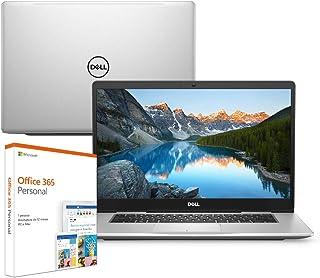 "Notebook Dell Inspiron Ultrafino i15-7580-M10F 8ª Geração Intel Core i5 8GB 1TB Placa de Vídeo FHD 15.6"" Windows 10 Office 365 McAfee"