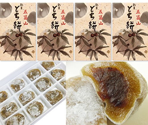 富山の銘菓 とち餅 12個入り×4箱セット