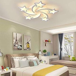 Techo LED techo luz de la lámpara colgante de los niños estrella creativa de acrílico pantalla deco de metal y acrílico lámpara del dormitorio for la lámpara colgante salón dormitorio for niños