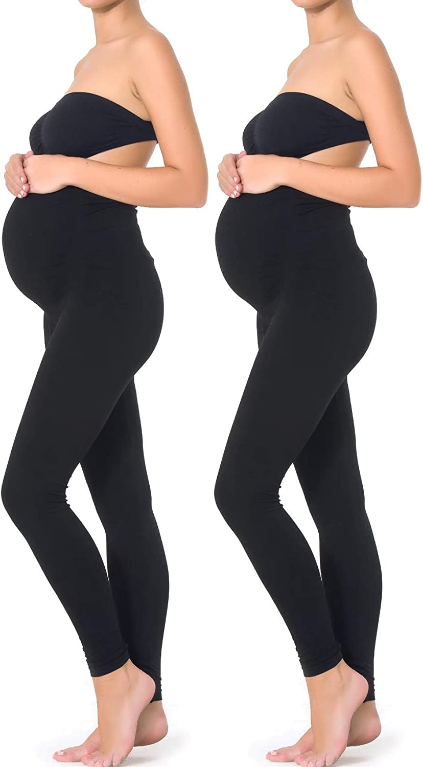Essentials For Mothers Maternity Pregnant Women Leggings At Amazon Women S Clothing Store