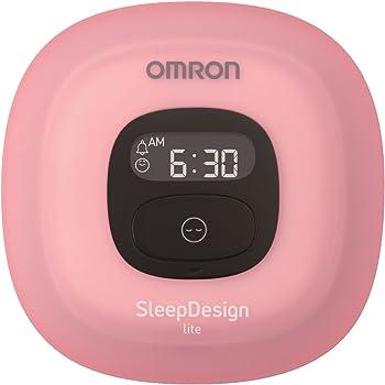 OMRON ねむり時間計 Sleep Design lite ピンク HSL-001-PK
