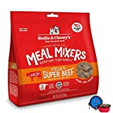 Stella & Chewy's Freeze Dried Dog Food,Snacks Super Meal Mixers 18-Ounce Bag,Hot Spot Pets Food Bowl - Made in USA (Beef)