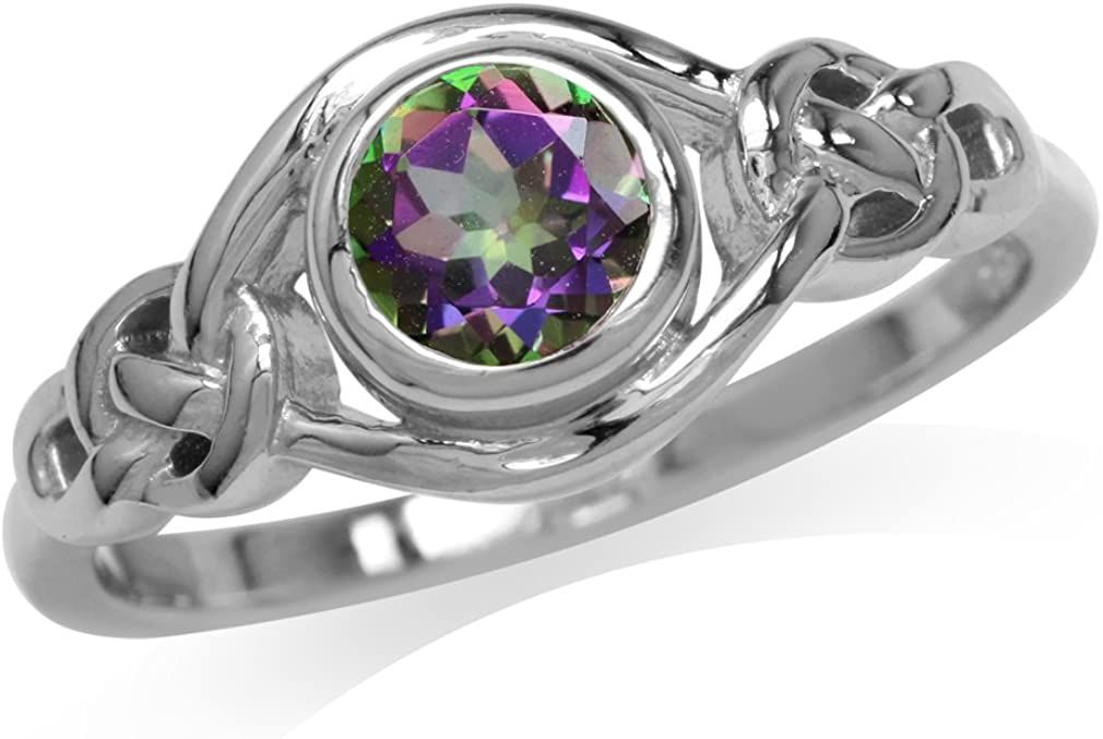 Silvershake Birthstone Animer and price revision Gemstones White 925 At the price Sterling Plated Gold