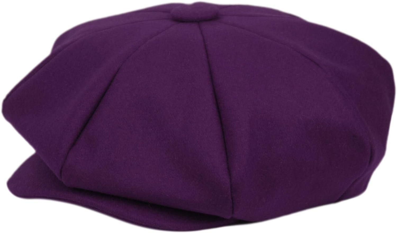 Big Apple Newsboy The Great Gatsby 8 Ca Hat Steampunk Wool Panel Max 74% OFF Super intense SALE