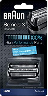 Braun 32B Replacement Foil And Bls Multi Cutter Cassette Black