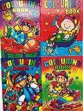 WF Graham - Set di 20 libri da colorare, formato A6, ideale per feste