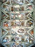 Poster 50 x 70 cm: Sixtinische Kapelle – Decke und