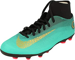 5cea97fdb95 Nike Men s CR7 Superfly 6 Club MG Soccer Cleats (Clear Jade Gold)