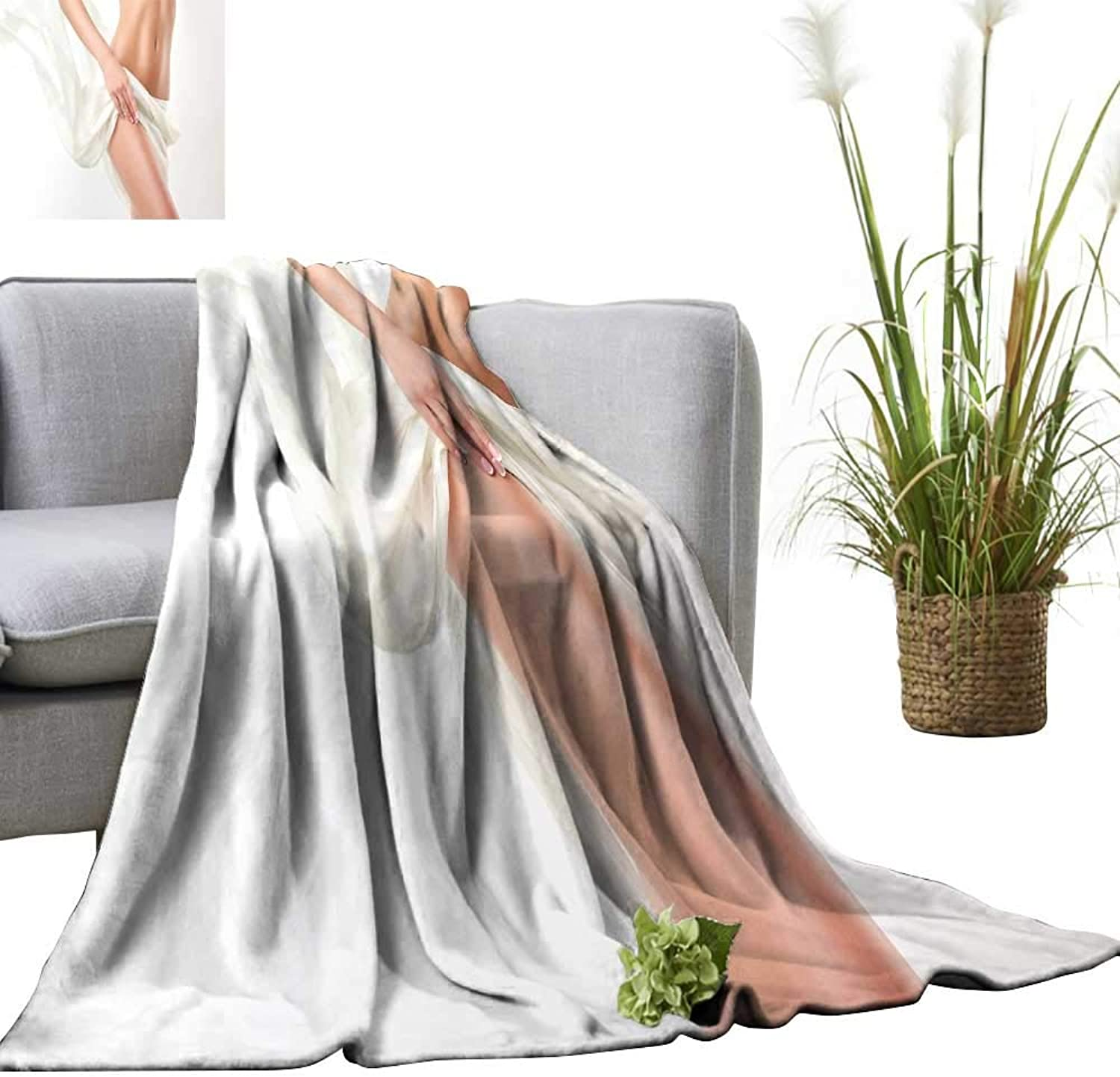 YOYI Baby Blanket Perfect Slim Tone Young Body The Girl examplae Sports Indoor Outdoor, Comfortable for All Seasons 60 x70