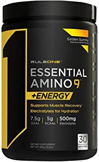 Rule one Essential Amino 9 Energy Golden Gummy 30 SVG, 345g