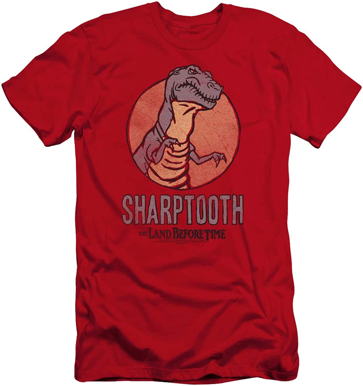 Land Before Time  Mens Sharptooth Premium Slim Fit TShirt