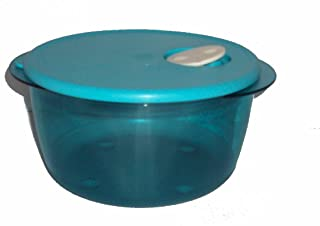 Tupperware Rock N Serve 2 Quart Round Azure Blue 2L