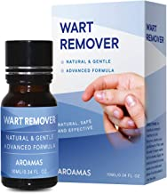 Aroamas All-Natural Wart Treatment, Painless Removal of Plantar, Common Warts and Infections, Also Promotes The Healing of Calluses and Corns