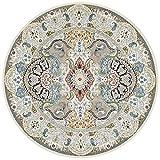 SYLOZ-URG Rund Vorleger marokkanische Teppiche Moderne Bereich Große Teppiche Wohnzimmer Schlafzimmer Teppiche Dekorative Teppiche, Orient-Teppiche Restaurant Teppiche URG