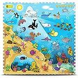 Creative Baby 9 Piece Interactive Playmat i-Mat, Under The Sea