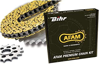 Afam 01201244 Kit cadena de moto para YAMAHA TZR 50 2003-2006 acero