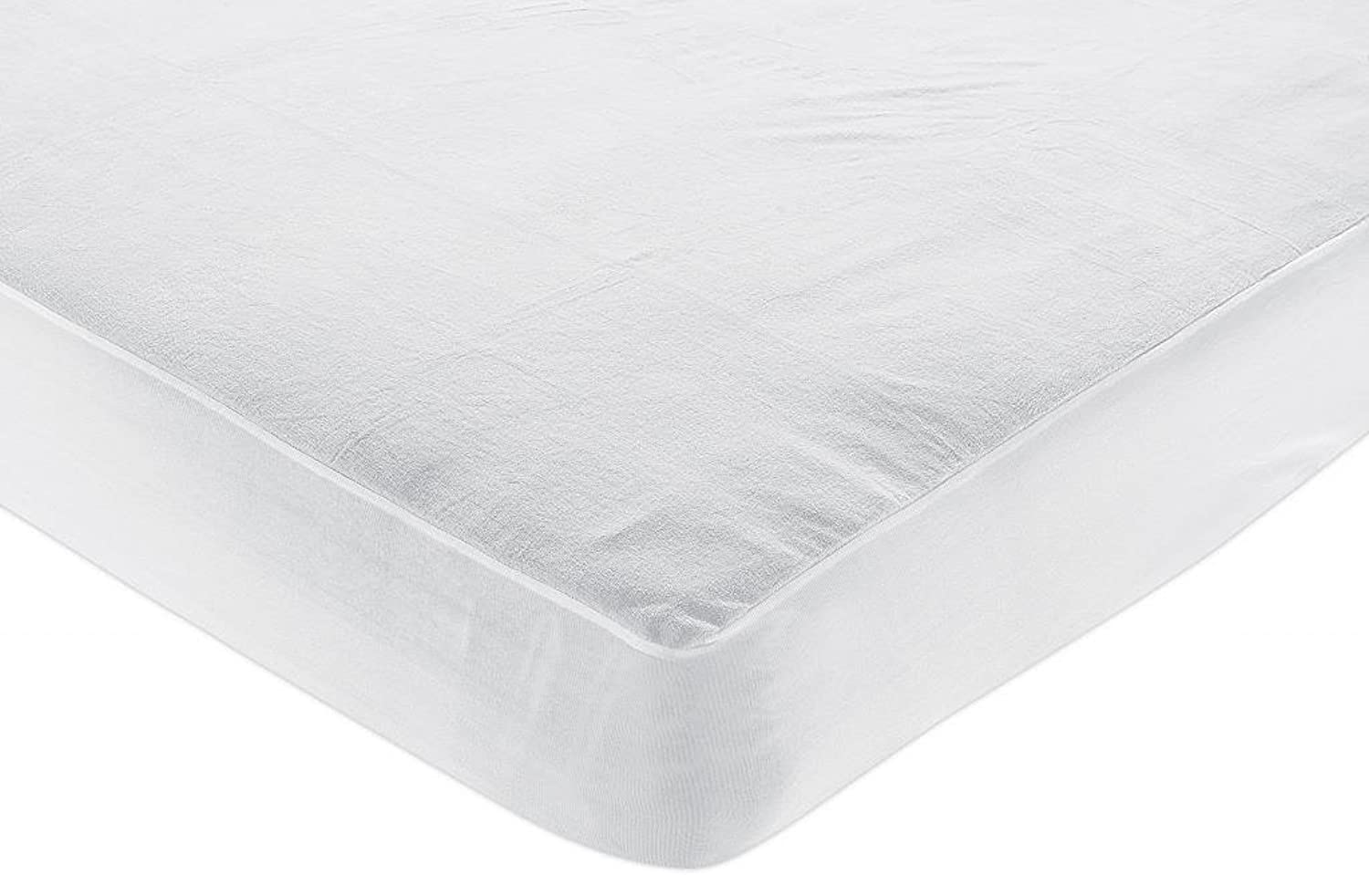 CAL-KING Size Bed Micro Velboa - Cozy Beddings Poly Nylon Hypoallergenic 100% Waterproof Mattress Predector
