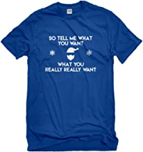 Indica Plateau Mens Tell me What You Want T-Shirt