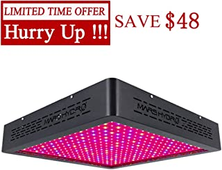 MARS HYDRO 1600W Led Grow Light for Indoor Plants Full Spectrum Grow Lights Veg and Flower Growing Light Bulbs for Hydroponics Greenhouse (MarsII 1600W)